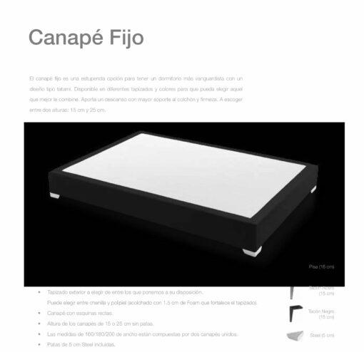 Canapé Fijo Comotex