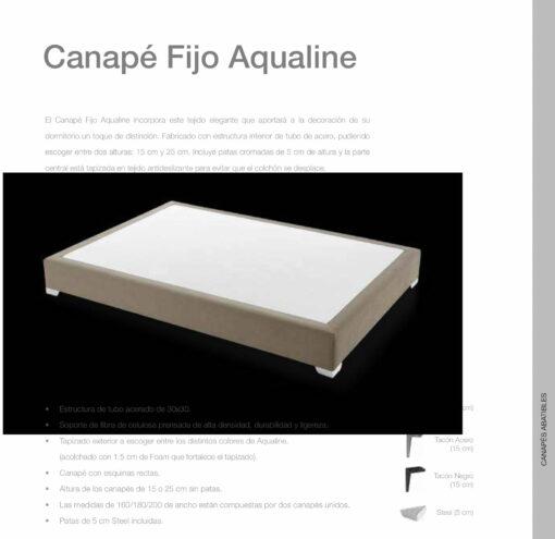 Canapé Fijo Aqualine Comotex