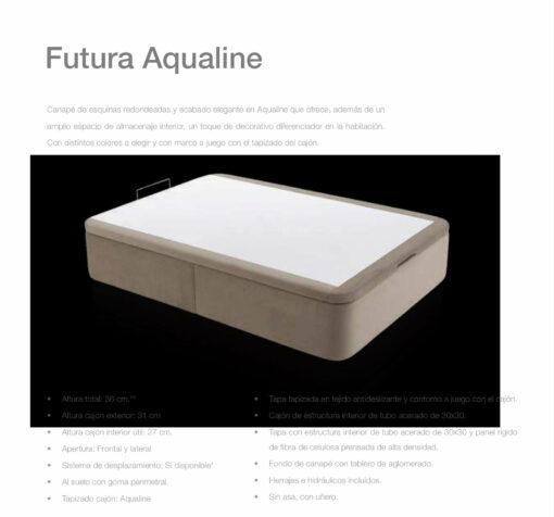 Canapé Entero Futura Aqualine Comotex