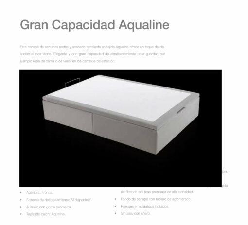 Canapé Entero Gran Capacidad Aqualine Comotex