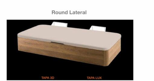 Canapé Round Lateral Tapa 3D Comotex