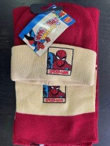 Gorro + Bufanda Niño Spiderman_1