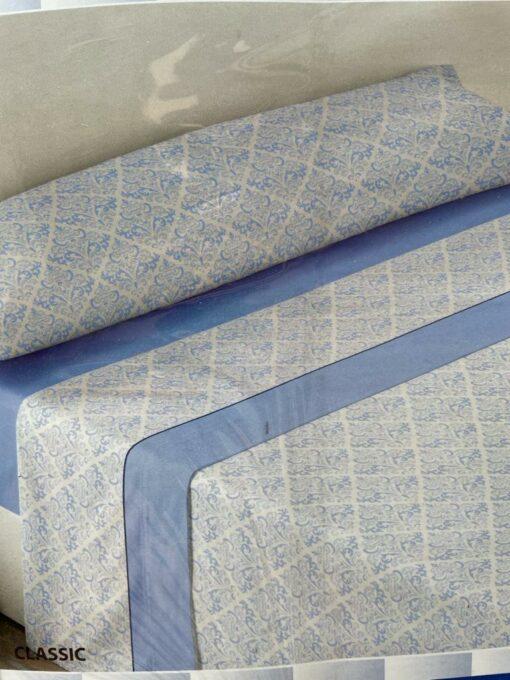 Juego Sábanas Pirineo Clasic Azul