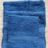 Juego Toallas 3 piezas Algodón Azulón