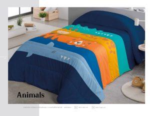 Edredon Comforter Infantil Animals