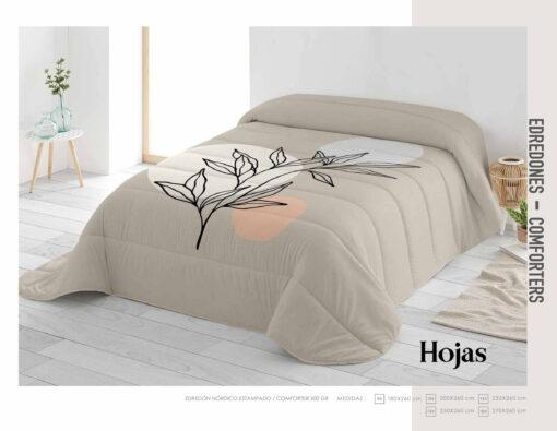 Edredon Comforter Hojas