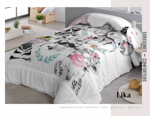 Edredon Comforter Infantil Lika