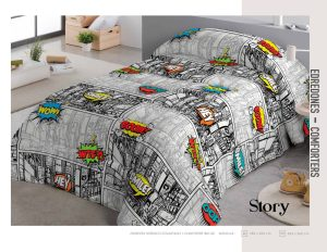 Edredon Comforter Infantil Story
